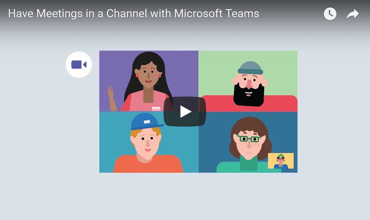 "Using ""Meet Now"" In Microsoft Teams"